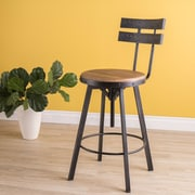 Laurel Foundry Modern Farmhouse Henley Adjustable Swivel Bar Stool