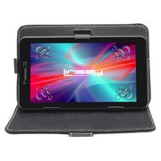 "LINSAY F7XHDB 7"" Quad Core Tablet w/ Black Case Android"