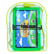 "LINSAY F10XHDKIDSBAGG 10"" Quad Core Tablet w/ Green Kids Defender Case and Bag Pack Android"