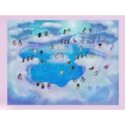 Wallhogs Penguins Glossy Poster; 18'' H x 24'' W