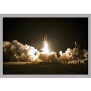 Wallhogs Space Shuttle Launch Glossy Poster; 32'' H x 48'' W