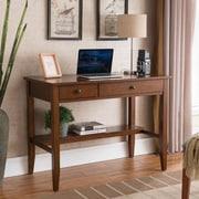 One Source Living Sutton Writing Desk; Espresso