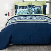 Stylehouse Tori 8 Piece King Reversible Comforter Set