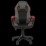 Innovex Indy Racing High-Back Leather Executive Chair