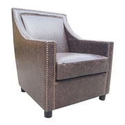 Moe's Home Collection Stratford Lounge Chair; Brown