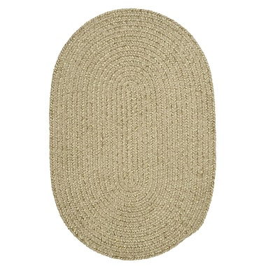 Colonial Mills Spring Meadow Sprout Green Area Rug ; Round 4'