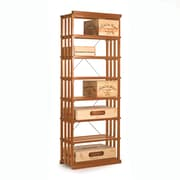 Wine Enthusiast Companies N'finity 84 Bottle Floor Wine Rack; Natural