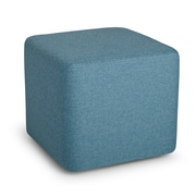 Poppin, Blue, Block Party Ottoman (101910)