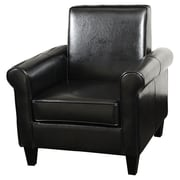 Home Loft Concepts Brooks Club Chair; Black