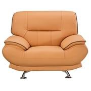 AmericanEagleInternationalTrading Arcadia Arm Chair; Yellow