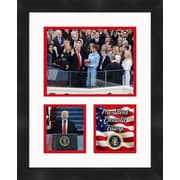 Frames By Mail 2017 Presidential Inauguration of President Donald Trump Framed Memorabilia; White