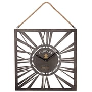 Laurel Foundry Modern Farmhouse Square Wall Clock w/ Rope Hanger