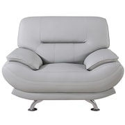 AmericanEagleInternationalTrading Mason Arm Chair; Light Gray