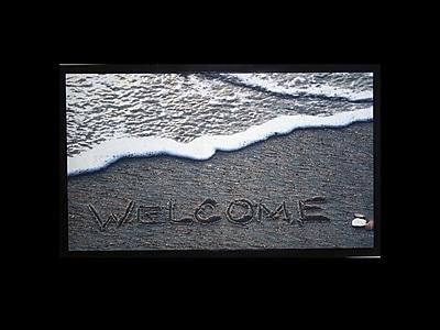 Home Fashion Designs Bora Bora Welcome Beach Printed Outdoor Welcome Door Mat WYF078279886204