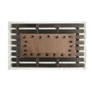 Home Fashion Design Montpelier Coir Brush Paw Prints Doormat