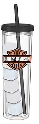 Evergreen Enterprises, Inc Harley-Davidson 16 oz. Acrylic Skinny Cup WYF078279886297