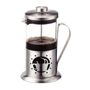 Meglio Stainless Steel/Glass French Press Coffee Maker