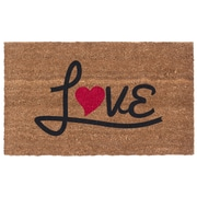 Coco Mats N More Love Heart Door Mat