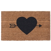 Coco Mats N More Heart N' Arrow Door Mat