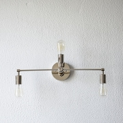Illuminate Vintage Mid Century 3 Light Vanity Light