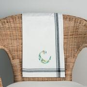 Glory Haus C Initial Tea Towel