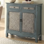 ACME Furniture Winchell Antique 2 Door Accent Cabinet
