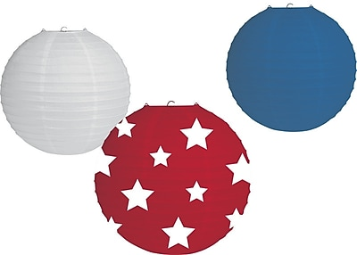 Creative Converting Fourth of July Lantern (Set of 3) WYF078279888678