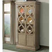 Laurel Foundry Modern Farmhouse Kenwood Standard China Cabinet; Sun-drenched Acacia