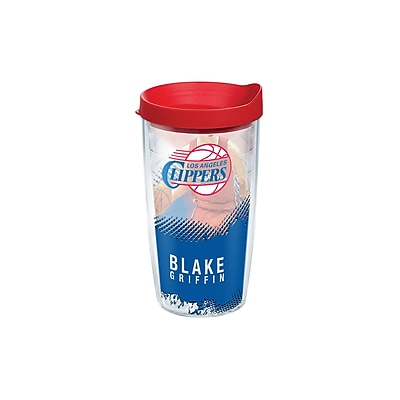 Tervis Tumbler NBA Los Angeles Clippers Blake Griffin 16 Oz. Tumbler w/ Lid WYF078278276905