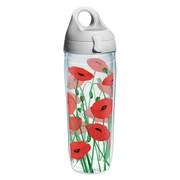 Tervis Tumbler Garden Party Red Poppies Water Bottle