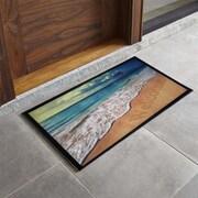 Home Fashion Design Bora Bora Beach Sunrise Printed Outdoor Welcome Door Mat