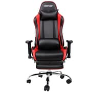 Merax Racing High-Back Executive Chair w/ Adjustable Armrest; Red