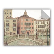 ArtWall Keri Bevan Sunday Morning in Venice Wall Decal; 8'' H x 10'' W x 0.1'' D