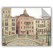 ArtWall Keri Bevan Sunday Morning in Venice Wall Decal; 24'' H x 32'' W x 0.1'' D