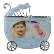 Lorren Home Trends Carriage Picture Frame; Blue