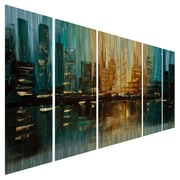 All My Walls The Capital by Osnat 5 Piece Original Painting Set
