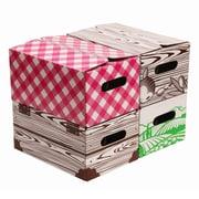 Victorio 4 Piece Corrugated Cardboard Pint Jar Storage Box Set