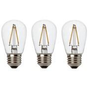 Newhouse Lighting 11W E26/Medium (Standard) LED Vintage Filament Light Bulb (Set of 3)