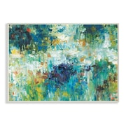 Stupell Industries 'Reflections Blue Abstract Landscape' by Jack Roth Painting Wall Plaque Art