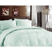 BHPNY Bamboo Heavyweight Down Alternative Comforter; Bleached Aqua