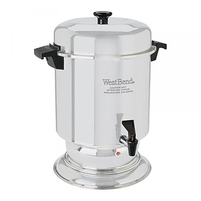West Bend Commercial Aluminum 55 Cup Coffee Urn WYF078279861616