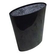 Melange Moderno Knife Block; Black