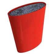 Melange Moderno Knife Block; Red