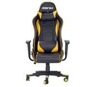 Merax Racing High-Back Executive Chair; Yellow