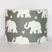 Pam Grace Creations Indie Elephant 43'' Drum Lamp Shade