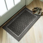 Entryways Weather Beaters Silver/Gray Polypropylene Mat
