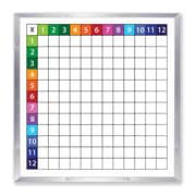 Flipside Products Framed Grid Whiteboard, 48'' x 48''