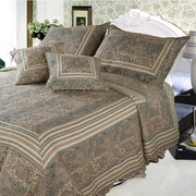 DaDa Bedding Paisley Paradise 3 Piece Reversible Bed in a Bag Set