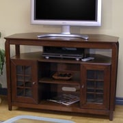 Wildon Home   Veneto TV Stand; Walnut Brown