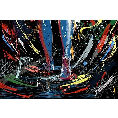 Maxwell Dickson The Path Graphic Art on Wrapped Canvas; 16'' H x 20'' W